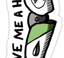 Give Me a Hand? Sticker