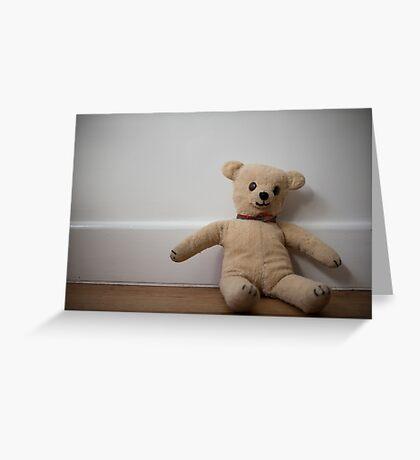 Day 81 - teddy Greeting Card