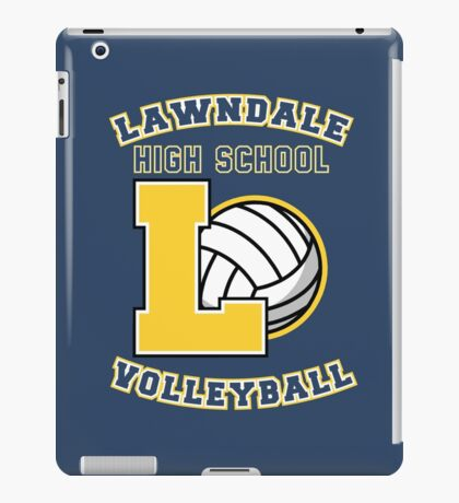Lawndale HS Volleyball iPad Case/Skin