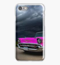 Pink Lightning  iPhone Case/Skin