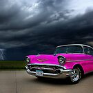 Pink Lightning  by myronmhouse