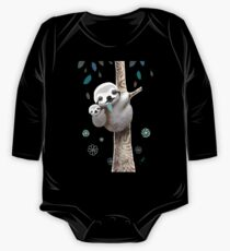 Baby Sloth Midnight One Piece - Long Sleeve