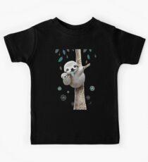 Baby Sloth Midnight Kids Tee