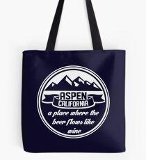 Aspen, California Tote Bag