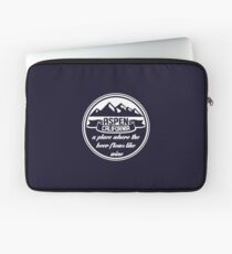 Aspen, California Laptop Sleeve