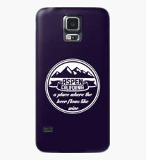 Aspen, California Case/Skin for Samsung Galaxy