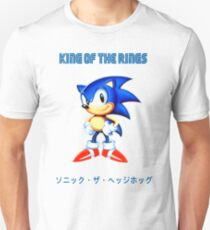 Sonic, King of the Rings Unisex T-Shirt
