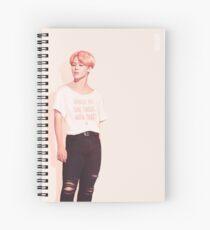 Jimin - Pastel Pink Spiral Notebook