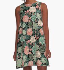 succulent A-Line Dress