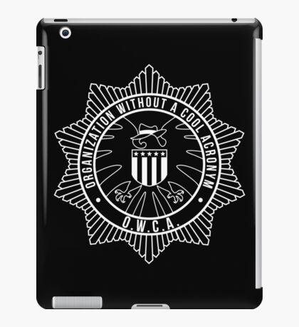 O.W.C.A. iPad Case/Skin