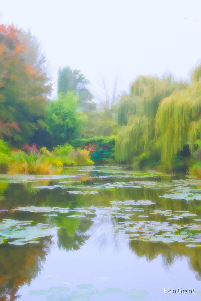 The Lily Pond by Ben Grant