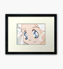 Manga girl 01 Framed Print