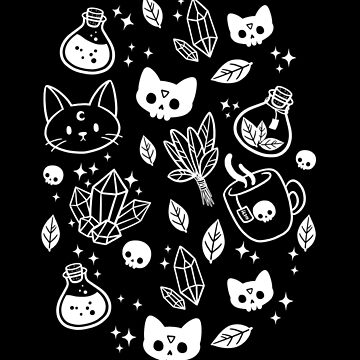 Herb Witch // Black & White by nikury