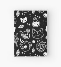 Herb Witch // Black & White Hardcover Journal
