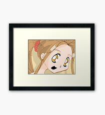 Manga girl 02 Framed Print