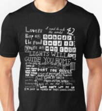 Lyrics Coldplay T-Shirt