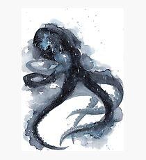 Galaxy Octopus Photographic Print