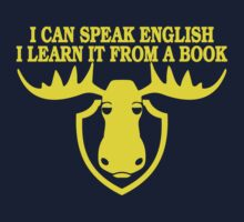 I Can Speak English, I Learn It From a Book | Unisex T-Shirt