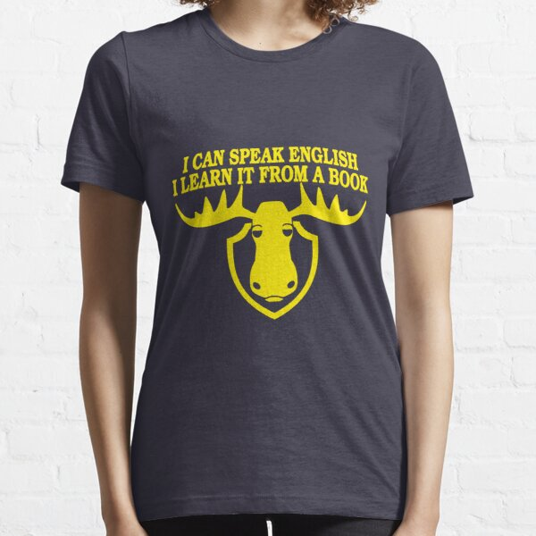 I Can Speak English, I Learn It From a Book Essential T-Shirt