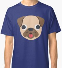 Cartoon Puppy Dog Face Classic T-Shirt