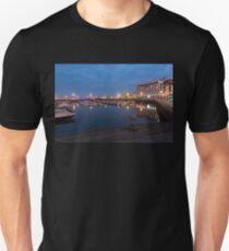 Strange Sea Creature - Faro Portugal Night Magic Unisex T-Shirt