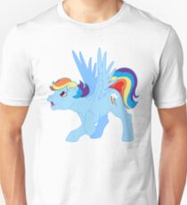 my little pony g1 rainbow dash Unisex T-Shirt