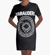 marauders Graphic T-Shirt Dress