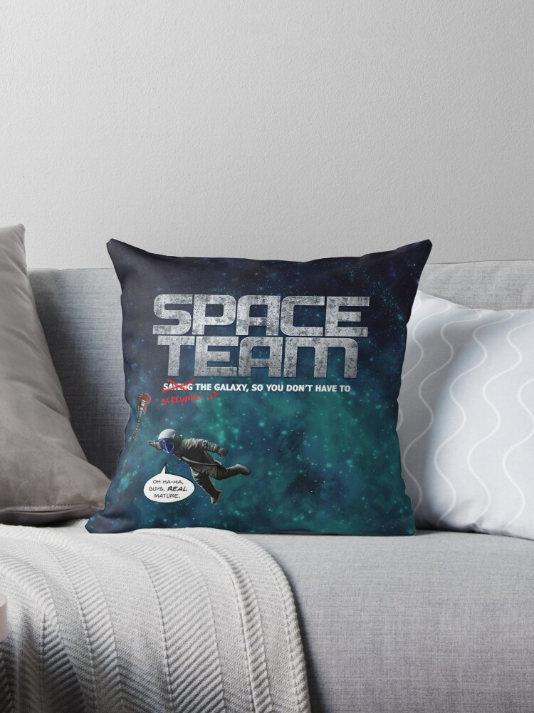 Space Team Logo by barryhutchison