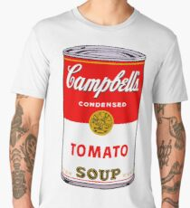 Campbell's Tomato Soup Can - Andy Warhol Men's Premium T-Shirt