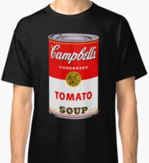 Campbell's Tomato Soup Can - Andy Warhol Classic T-Shirt