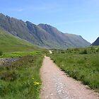 Glen Coe Walk by lezvee