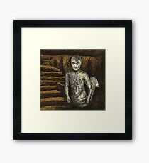 Reptile Boy - Demon - BtVS Framed Print
