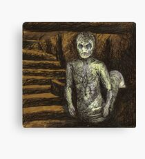 Reptile Boy - Demon - BtVS Canvas Print