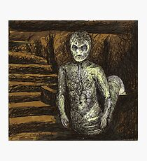 Reptile Boy - Demon - BtVS Photographic Print
