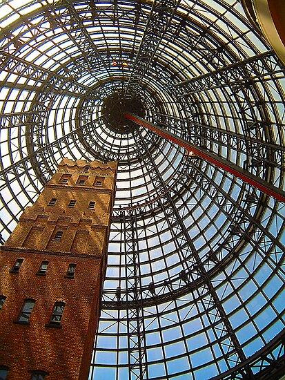 Progress Saves History - Melbourne Central, Melbourne Australia by Philip Johnson