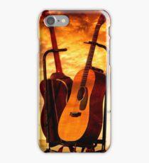 Guitars at Sunrise iPhone Case/Skin