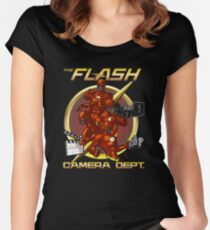 Flash Parody Women's Fitted Scoop T-Shirt