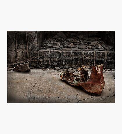 Boot Photographic Print