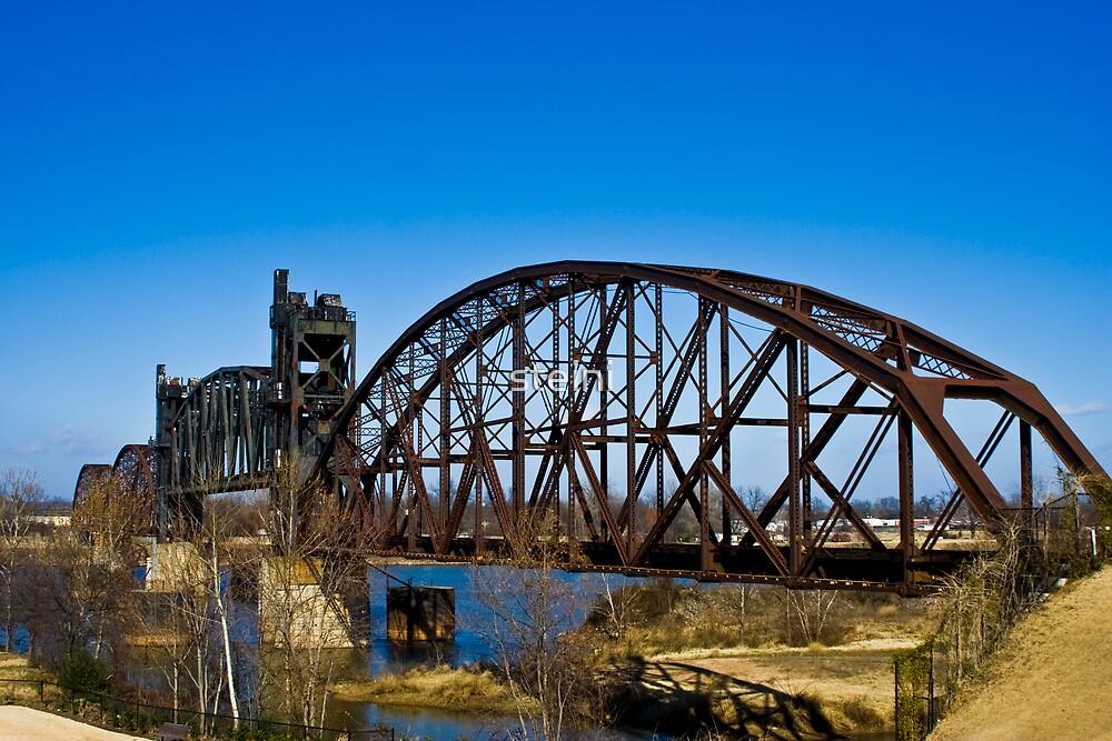 Railroad Bridge-Little Rock, Arkansas by steini