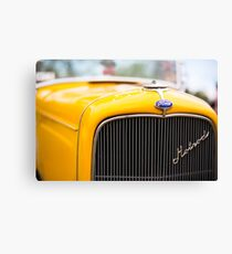 Casualties of being driven Canvas Print