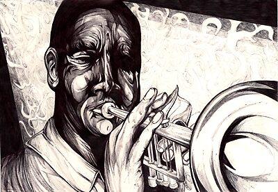 the trumpet player by Susanna Bennett