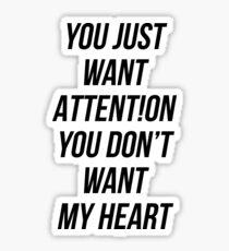 ATTENT!ION Sticker
