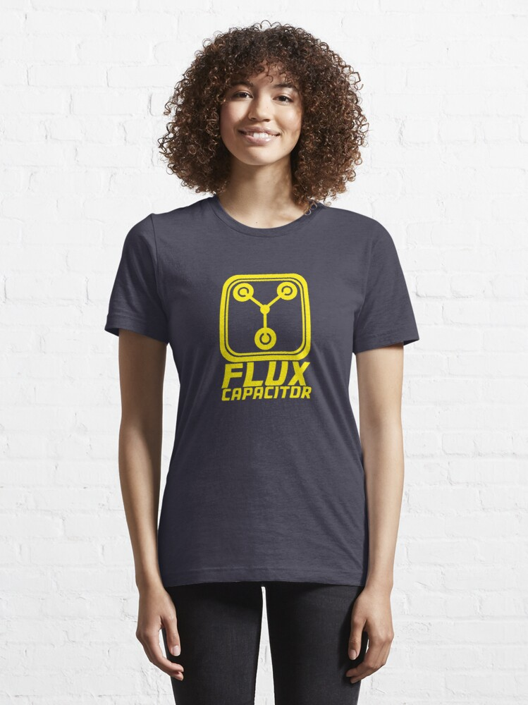 Alternate view of Flux Capacitor - Back to the Future Essential T-Shirt