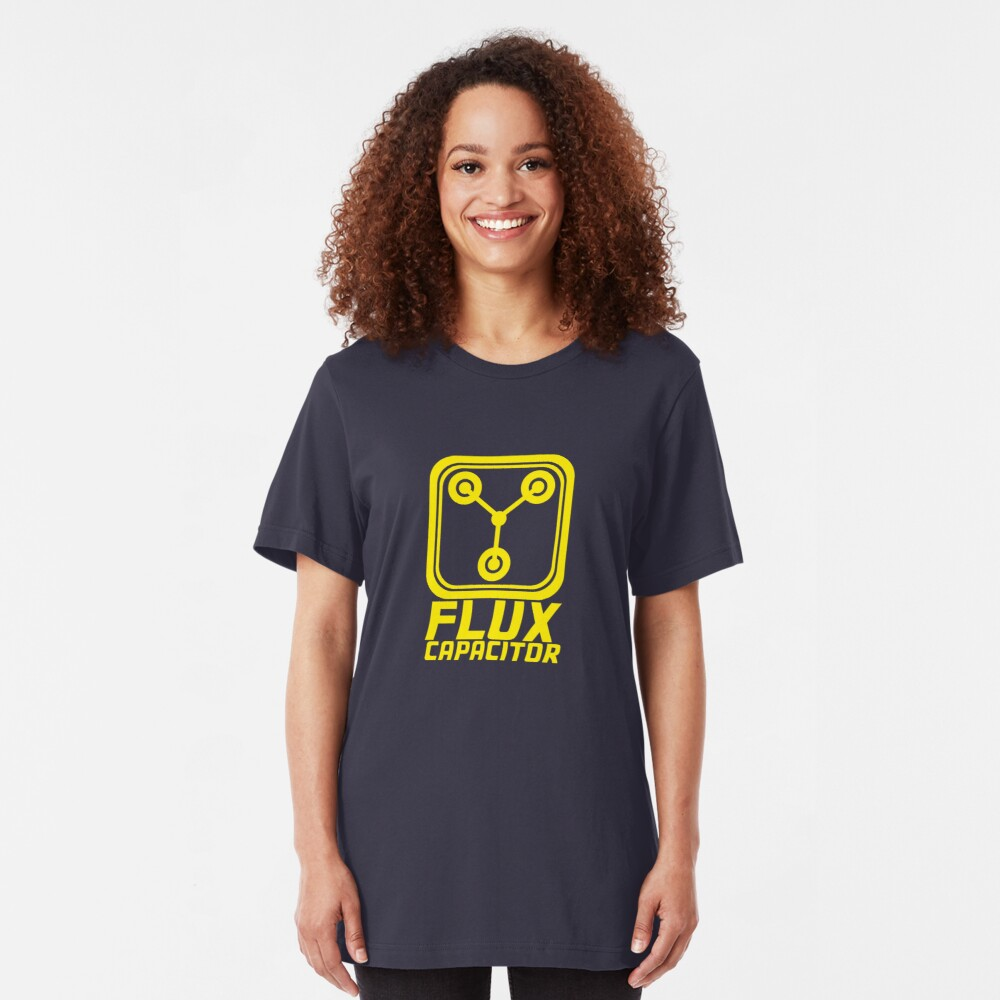 Flux Capacitor - Back to the Future Slim Fit T-Shirt