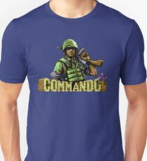 Gaming [C64] - Commando Unisex T-Shirt