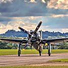Grumman F8F-2P Bearcat 121714 G-RUMM by Colin Smedley