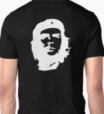 Revolution, Che, Guevara, Rebel, Cuba, Peoples, Freedom, WHITE on BLACK Unisex T-Shirt