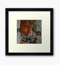 Game of Cards? Framed Print