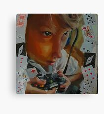 Game of Cards? Canvas Print
