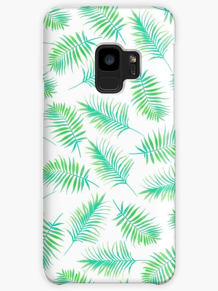 Fundas y vinilos para Samsung Galaxy «Hojas de palma, Impresión ...